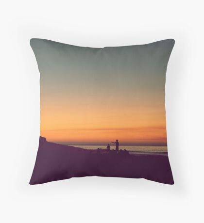 we drifted upon the sighs of summer Throw Pillow