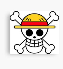 one piece pirate flag! Canvas Print