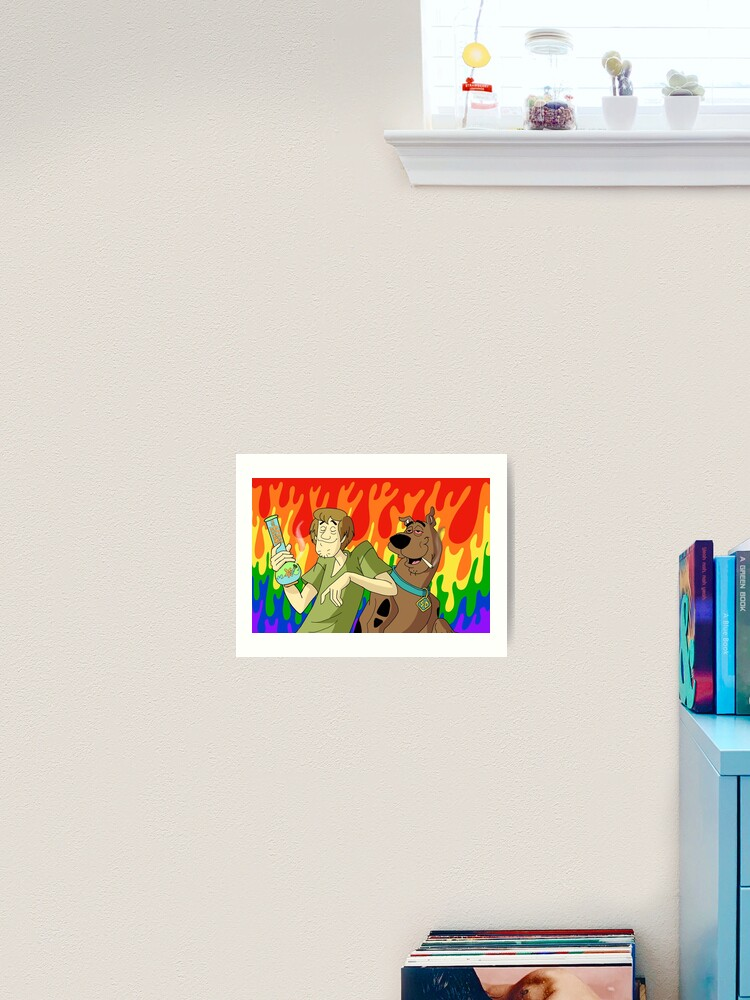 "20 24/"" Scooby-Doo poster wall art home decor photo print 16"