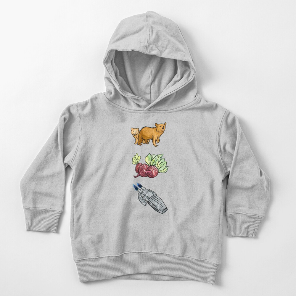 Bears, Beets, Battlestar Galactica - The Office Toddler Pullover Hoodie