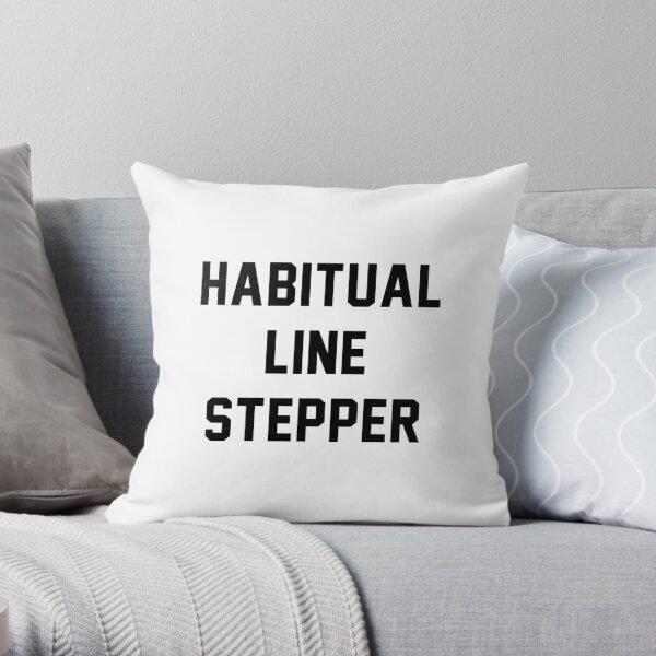 Habitual Line Stepper Throw Pillow