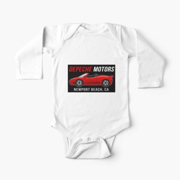 Depeche Motors Long Sleeve Baby One-Piece