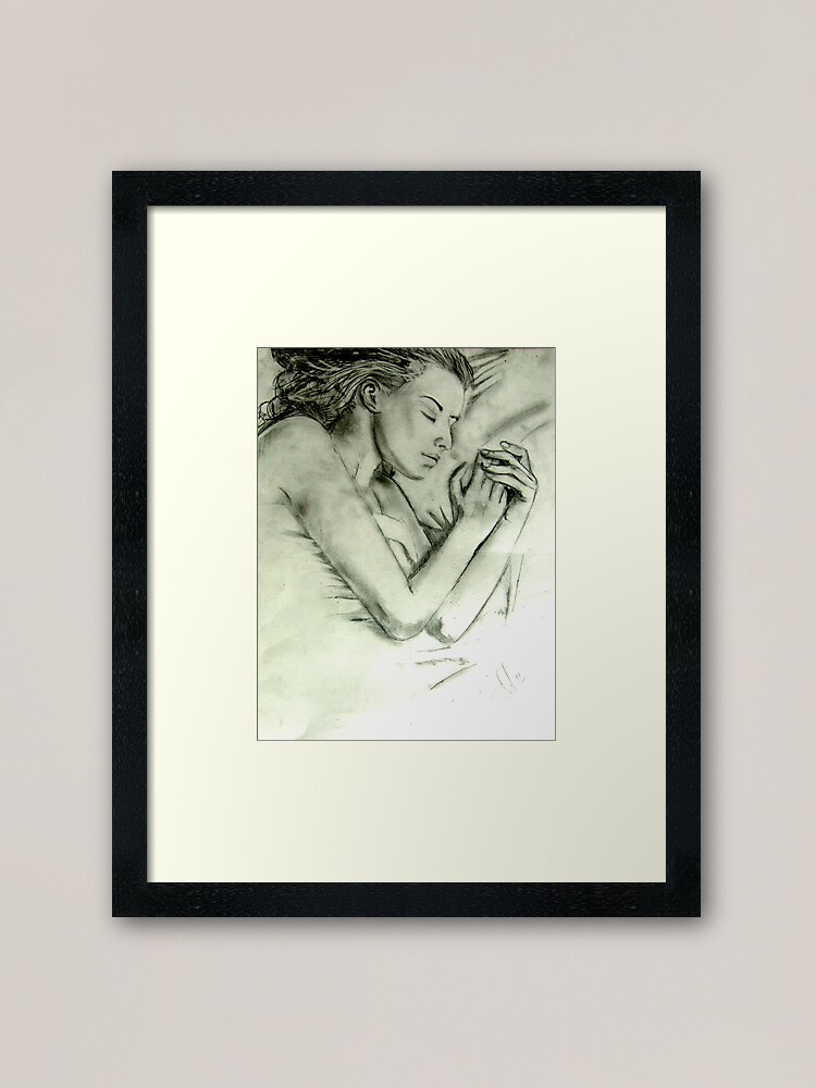Alternate view of Unknown Dream Framed Art Print