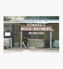 Howard's Wild Shiners Photographic Print
