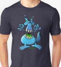 Extraterrestrial Monster Slim Fit T-Shirt