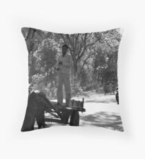 Horse Cart Riding !! - Indian Highways Throw Pillow
