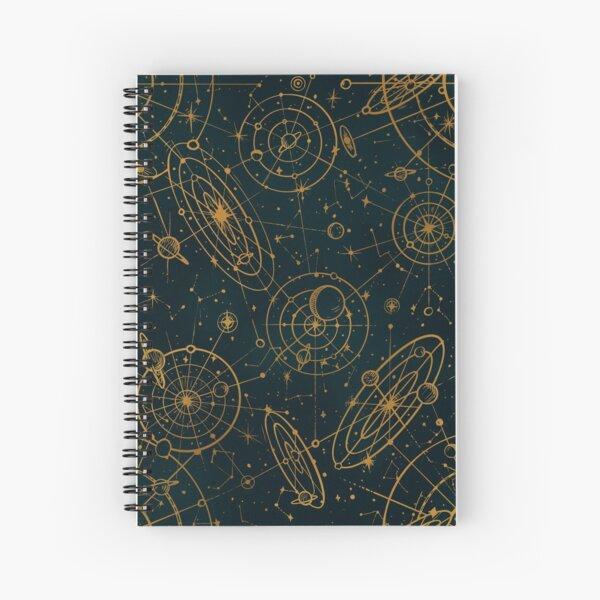 starry map Spiral Notebook
