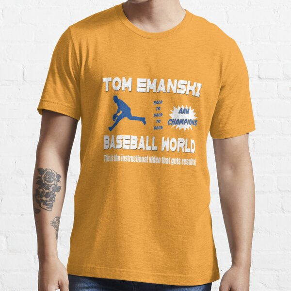 Tom Emanski Baseball Instructional Video Essential T-Shirt