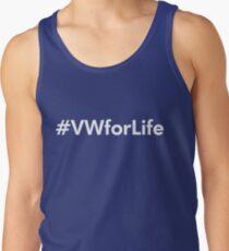 #VWforLife (White) Tank Top