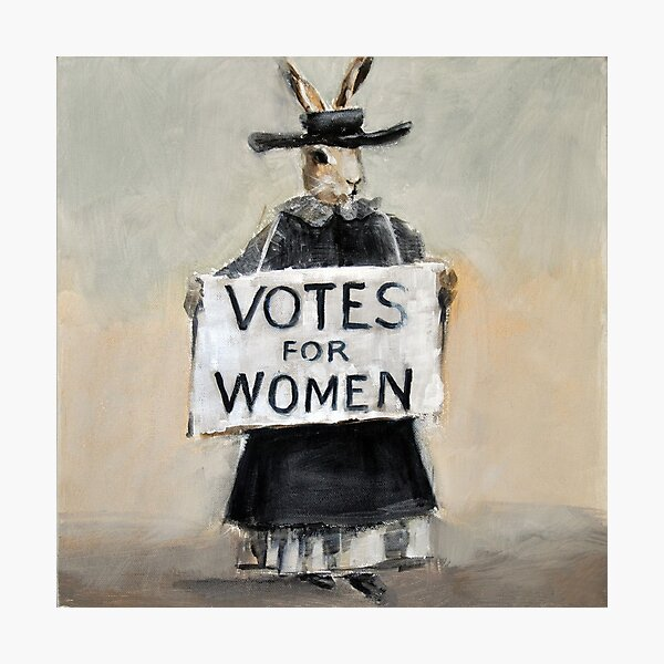 Votes For Women Photographic Print