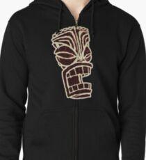Tiki T-Shirt Zipped Hoodie