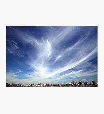 Greenwich Peninsula Cloudscape Photographic Print