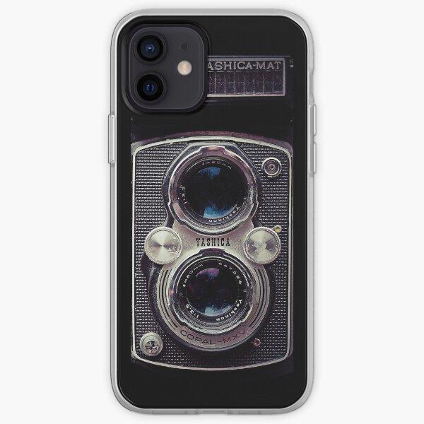 Vintage Camera - Yashica Mat, Retro Photography iPhone Soft Case