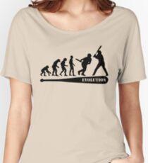 Baseball Evolution Women's Relaxed Fit T-Shirt