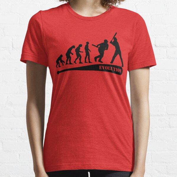 Baseball Evolution Essential T-Shirt