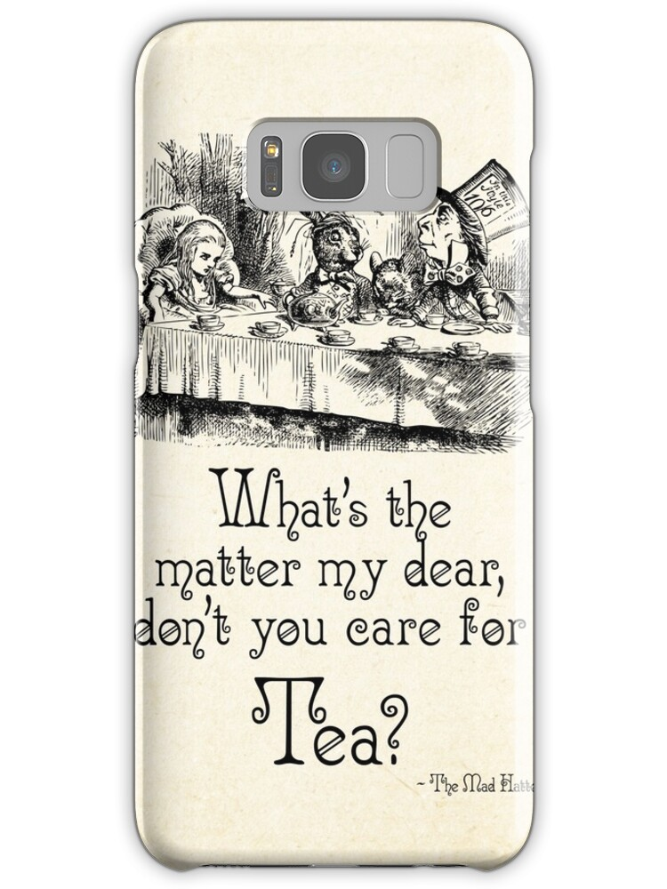 Alice in Wonderland Mad Tea Party Quotes