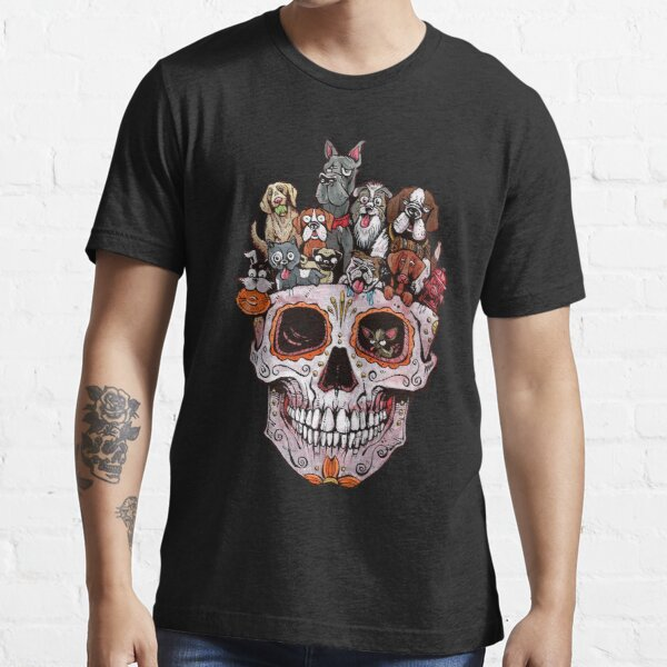 Dogs Skull Essential T-Shirt