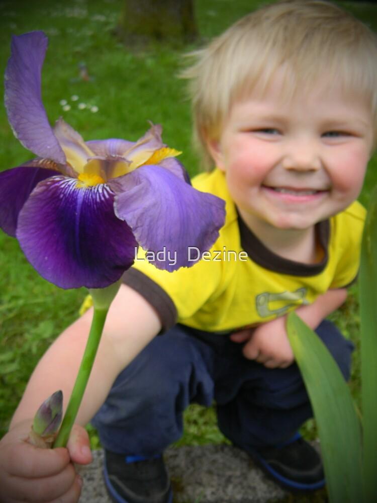 Flower Boy by Lady  Dezine