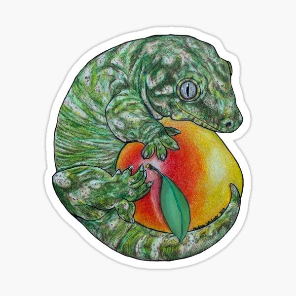 Giant Leachie Gecko Sticker