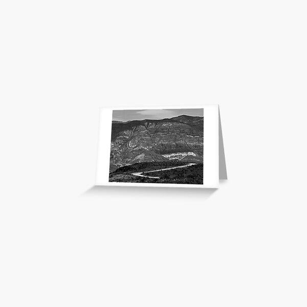 Padre Point Rainbow Rock Greeting Card