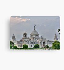 Victoria Memorial Hall, Calcutta, Kolkata Canvas Print