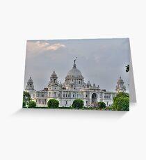 Victoria Memorial Hall, Calcutta, Kolkata Greeting Card