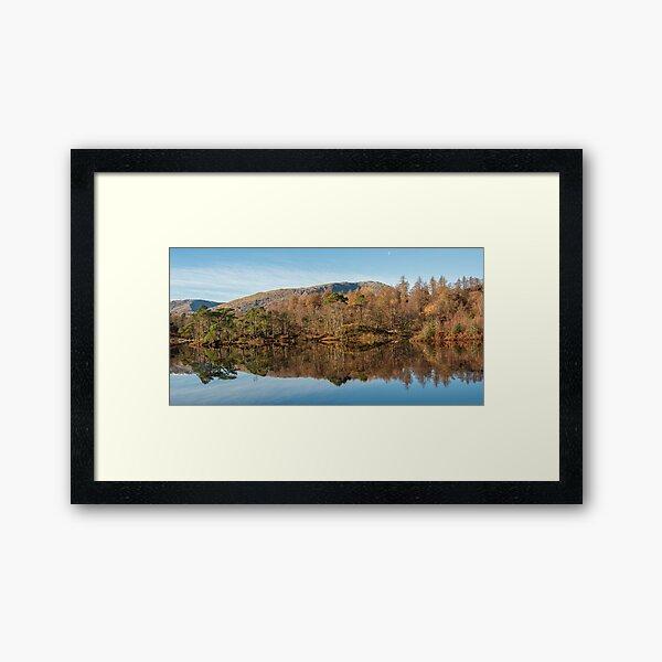 Reflection on Tarn Hows Framed Art Print