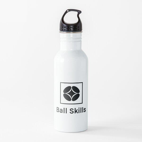 Logotipo original de Ball Skills Black Box Botella de agua