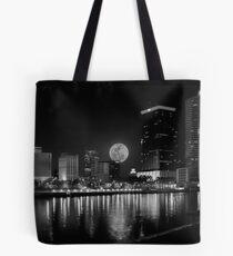 tampa moon  Tote Bag
