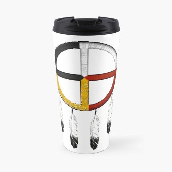 Medicine wheel or symbol of peace and unity Travel Mug
