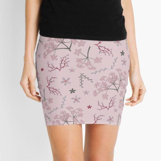 Pastel garden Mini Skirt