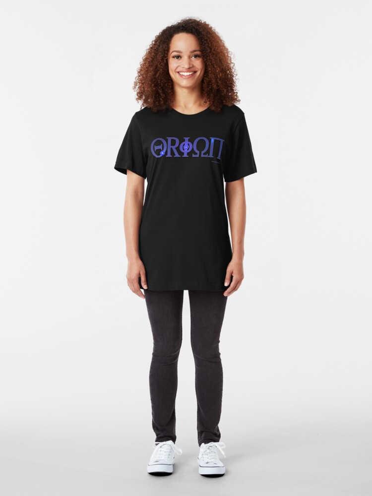 Alternate view of Eyes of Orion Slim Fit T-Shirt