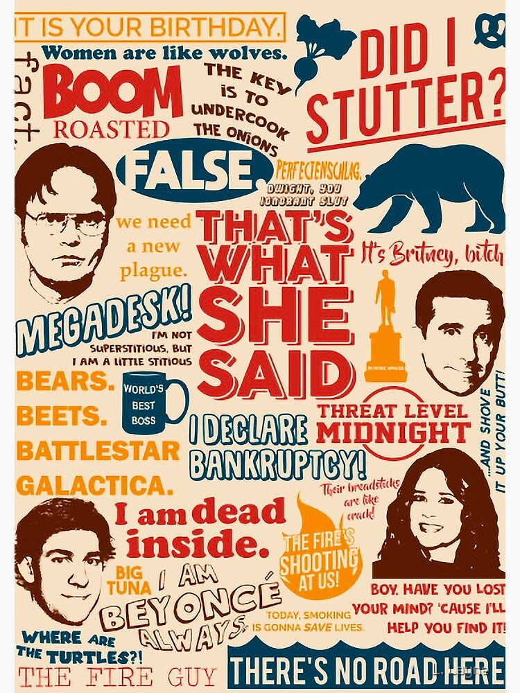 """All the Best Quotes from The Office - """"That's What She Said""""! by LorenzoGnech"""