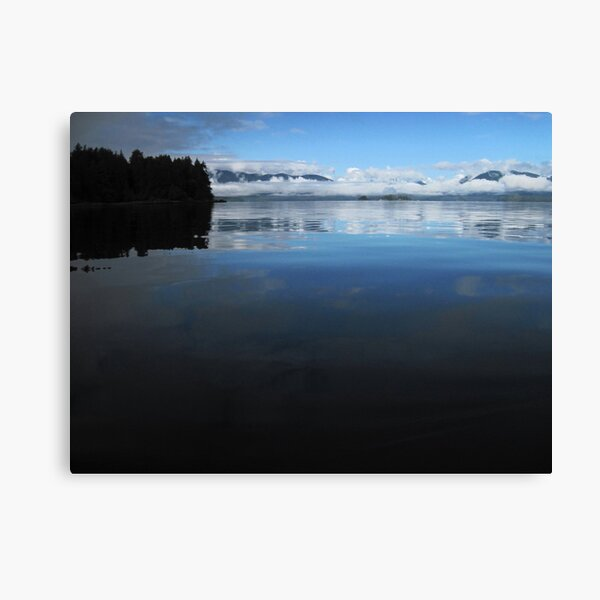 Mercury waters, Broken Group, Pacific Rim National Park, BC Canvas Print