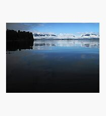 Mercury waters, Broken Group, Pacific Rim National Park, BC Photographic Print