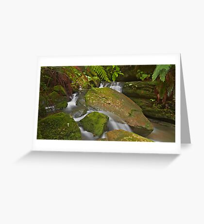 Splitting Waters Greeting Card