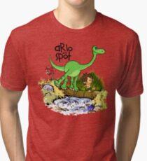 Arlo and Spot  Tri-blend T-Shirt