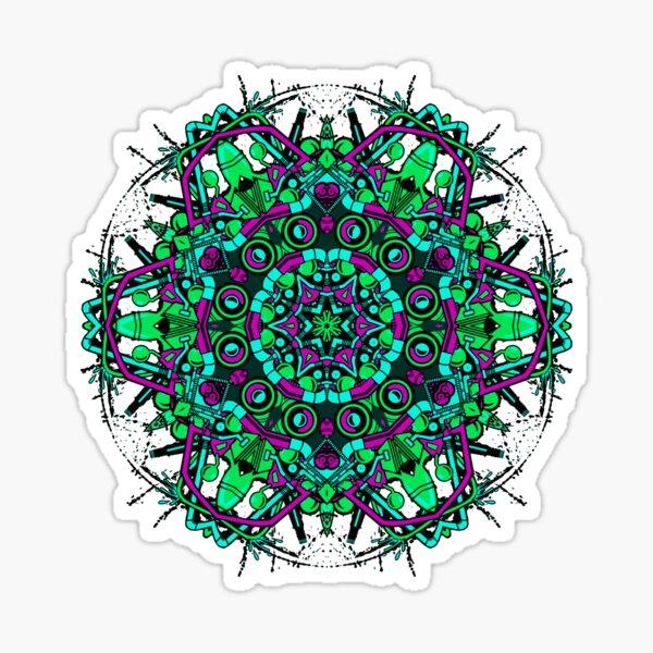 spiral lsd  Sticker