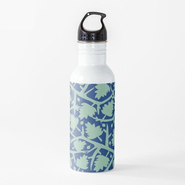 Hawthorn Tree pattern blue/mint Water Bottle
