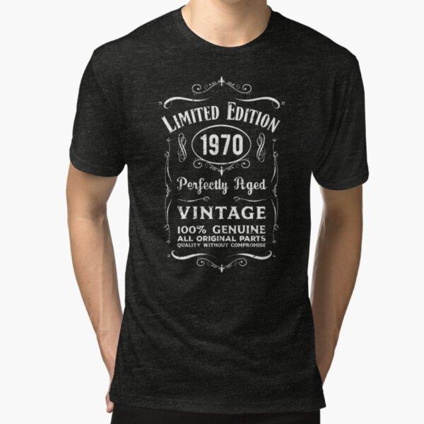 49th Birthday Made In Year 1970 All Original Parts Tshirt Dad Grandad Brother
