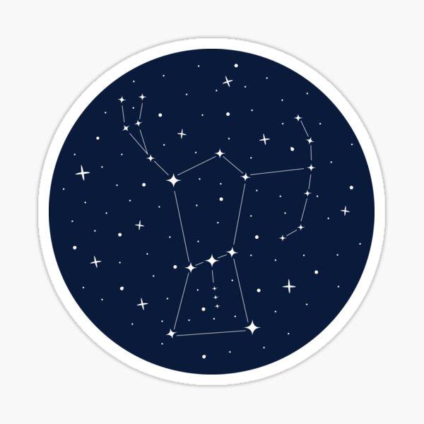 orion night sky Sticker