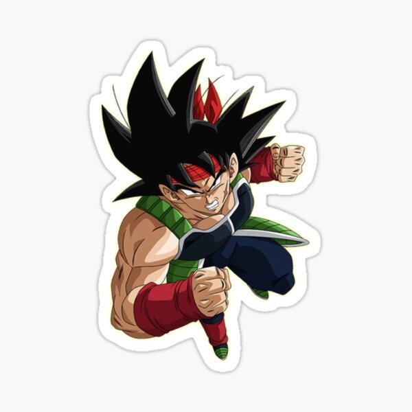 Bardok dragon ball z Sticker