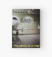 The Lemon is in Play Hardcover Journal