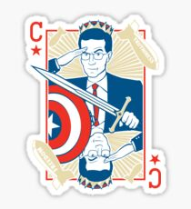 King Colbert Sticker