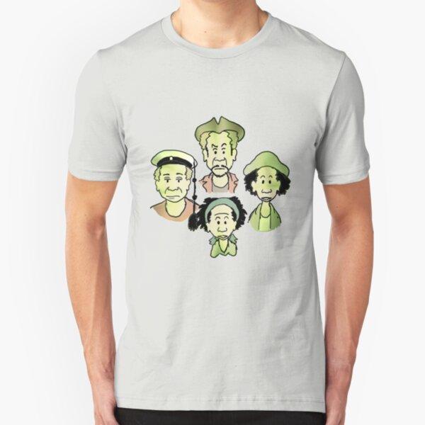 Pirate Consultant comic Slim Fit T-Shirt
