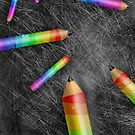 Pencils by Nigel Silcock