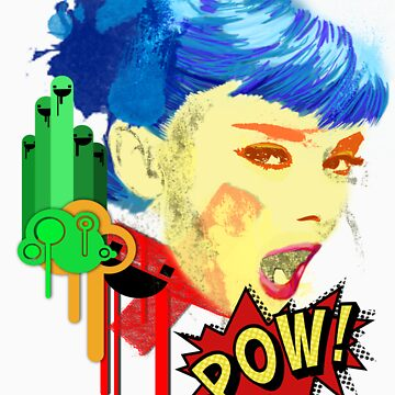 POW! Oh Yea~Audrey by sunkingdesigns