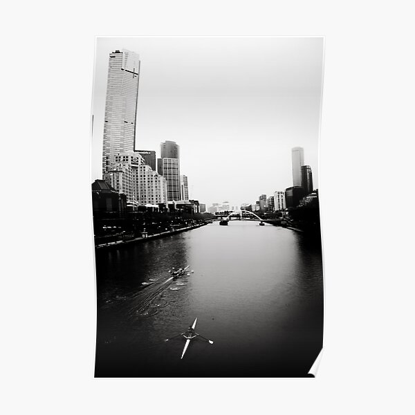 Yarra River in the Morning Poster