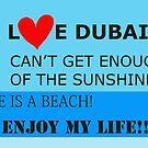 I Love Dubai by Helen Shippey