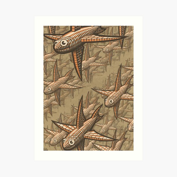 Escher - Profundidad Lámina artística